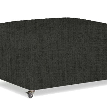 Pelham Paragon Cot Ottoman Sleeper by Lazar Industries in Avanti Anthrosite