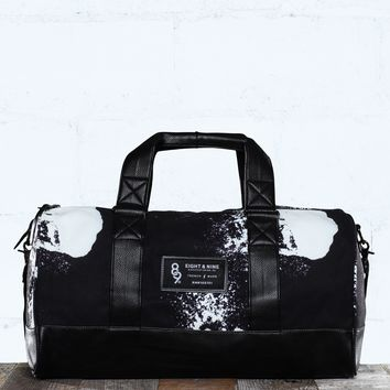 Blow Print Canvas Duffel Bag