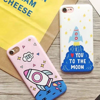 Rocket iPhone 7 7Plus & iPhone se 5s 6 6 Plus Case Cover-0323