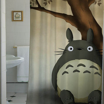 toroto shower curtain that will make your bathroom adorable