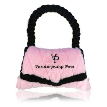 Vanderpump Pets Purse Plush Toy - Dog Toys at Hayneedle