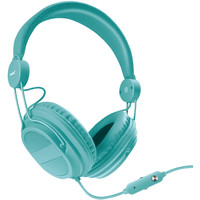 DREAMGEAR DGHM-5537 HM310 Kids' Headphones with Microphone (Turquoise)