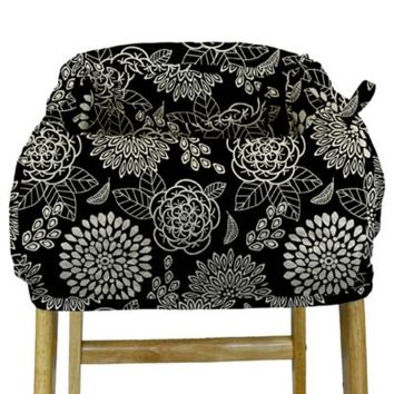 The Peanut Shell® High Chair and Shopping Cart Cover in Tea Time