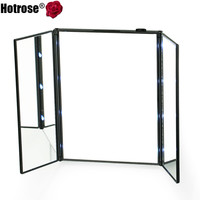 Superior foldable 8 LED Lighted Mirror