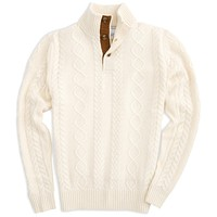 Riverdale Corded Pullover in Marshmallow by Southern Tide