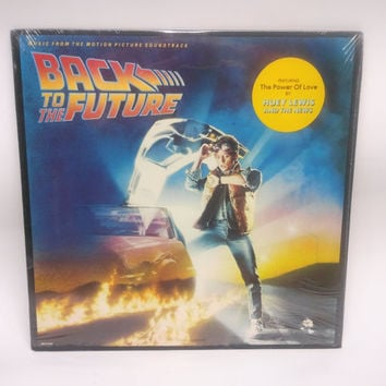 Back To the Future Rare Sealed 1985 LP Album Soundtrack Vinyl Record Marty McFly