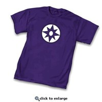 Green Lantern Violet Lantern Corps Symbol Purple Adult T-Shirt  - Shirts Sheldon Has Worn - Free Shipping on orders over $60 | TV Store Online