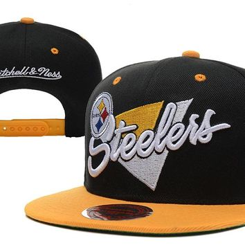 Pittsburgh Steelers Snapback NFL Football Cap M&N