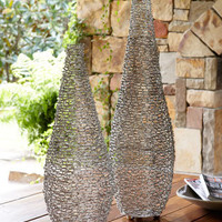 Chain Mail Vases - Horchow