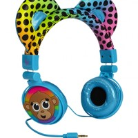 Monkey Critter Headphones | Girls Tech Accessories Beauty, Room & Tech | Shop Justice
