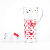 Hello Kitty Outdoor Pitcher: Red Bow