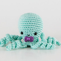 Octopus Amigurumi, Sea Creature Octopus, Octopus Plush, Octopus Stuffed Toy, Handmade Octopus