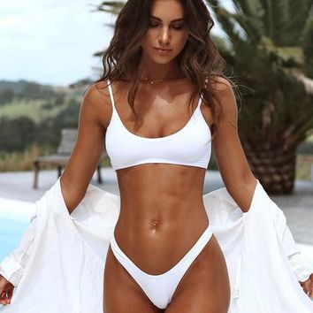 Womens Casual Trendy Brazilian Beach Swimsuit Bikini