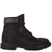 Timberland 6 Single Shot Boot Black Suede