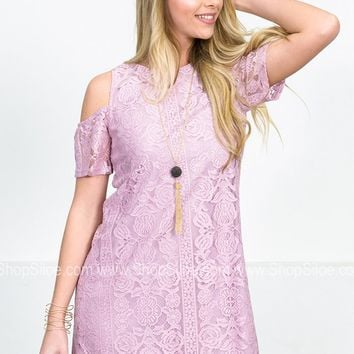 Lilacs'n Laces Floral Dress