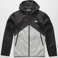 Quiksilver New Wave Mens Windbreaker Black  In Sizes