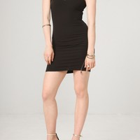 Fontana 2.0 Black One Shoulder Dress