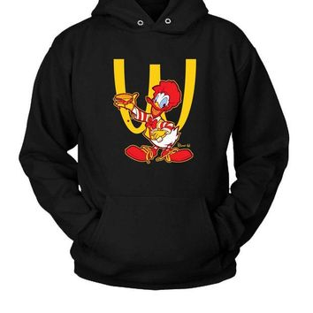 ONETOW Ronald Mcdonald Duck Hoodie Two Sided