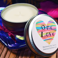 One Love - Scentiments Inspirational Candle Gift