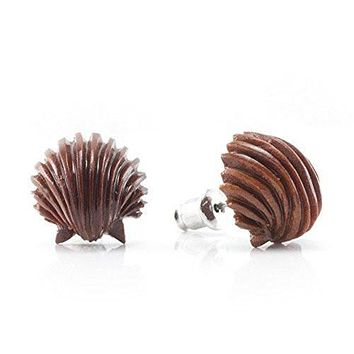 Ariel's Shell WildKlass Makerpin Earring Studs