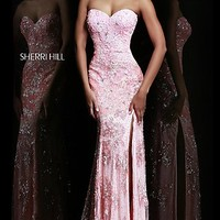 Sherri Hill Sequin Pageant Gown