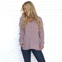Splendid Blush Knit Sweater
