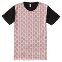 Strawberry All-Over Print T-Shirt