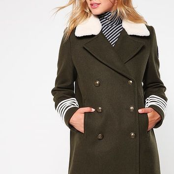 GIGI HADID - Short coat - green - Zalando.co.uk