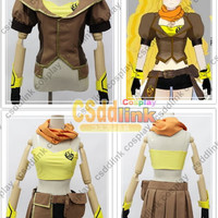 RWBY Yang Xiao Long Cosplay Costume female Yellow