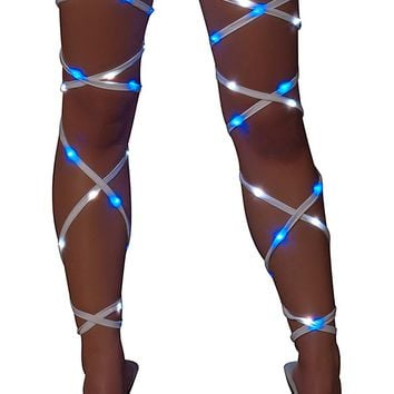 Pair J-Valentine EDC Light Up Leg Wraps