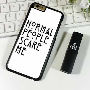 American Horror Story Normal People Scare Me iPhone 6 Plus | 6S Plus Case Planetscase.com
