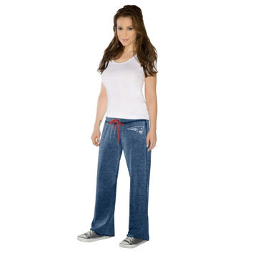 Touch By Alyssa Milano New England Patriots Ladies Star Player Pants - Navy Blue