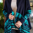 Stay A While Cardigan, Navy-Jade