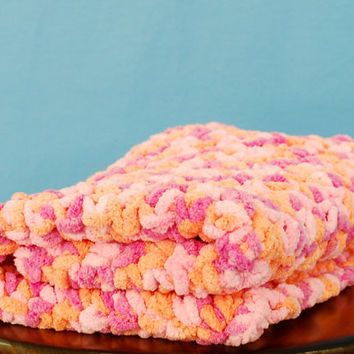 Crochet blanket mat rug Photography prop by BitofWhimsyCrochet