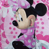 Wall Hanging , Wall Decor , MINNIE MOUSE Quilted Room Decor , Children , Nursery , Pink , Disney , Mickey Mouse