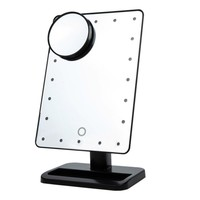 Touch Screen Vanity Mirror | 20 LEDs Lighted Makeup Mirror