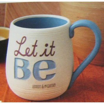 Hallmark Lyric Collection LAM3010 Let It Be Mug