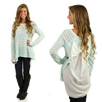 Bow-tiful Tunic in Sky Blue