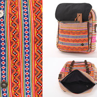 Convertible Rucksack 2 ways bag Rastafarian Everyday Backpack Casual Crossover Bag