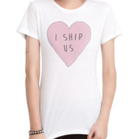 I Ship Us Heart Girls T-Shirt