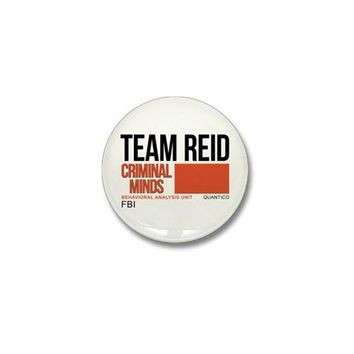 Team Reid Criminal Minds Mini Button