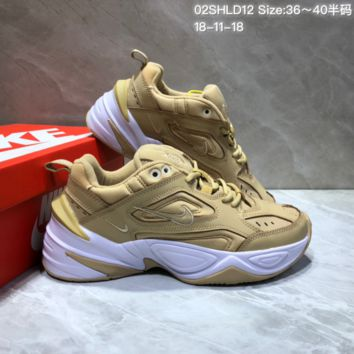 DCCK2 N664 Nike Air Monarch the M2K Tekno Sneaker Casual Running Shoes Yellow