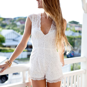 PRISCILLA PLAYSUIT