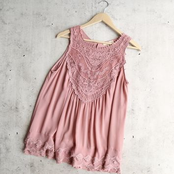 angel lace flowy top -  more colors