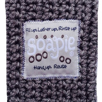 Best Soap Pouch/Felted Soap/The Best Exfoliator on the Market/Soapie Shoppe/Silver Stream & Heather