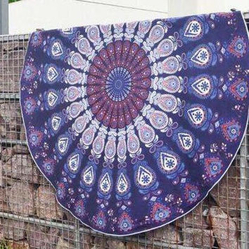 Mandala Boho Bohemian Wall Bed Table Beach Tapestry B0013624