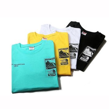 spbest Supreme X The North Face Spring Summer 2016 T-Shirt