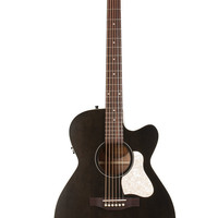 Art & Lutherie Legacy CW Q1T Faded Black Acoustic-Electric Guitar