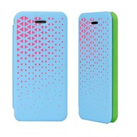 Hollow Out PU Phone Case For iPhone 5C
