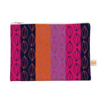 "Anneline Sophia ""Tropical Seeds"" Pink Orange Everything Bag"